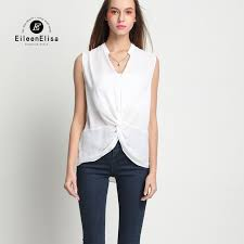 sleeveless blouses luxury blouse chiffon sleeveless blouse white