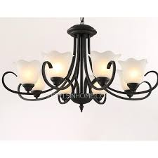 Simple Wrought Iron Chandelier Simple But Practical 8 Light Large Wrought Iron Chandeliers