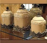 brown kitchen canister sets vintage brown kitchen canisters set of 4 made in u s a 20 00