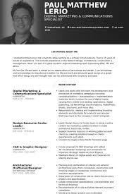 digital marketing resume digital marketing resume sles visualcv resume sles database