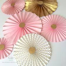 paper fan backdrop pink and gold glitter paper fan backdrop pink and gold