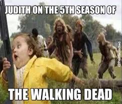 Walking Dead Memes Season 5 - judith on the 5th season of the walking dead the walking dead