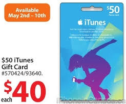 50 itunes gift cards on sale for 40 at walmart canada 20