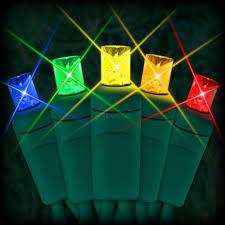 multi colored led christmas lights led multi color christmas lights 50 5mm mini wide angle led bulbs