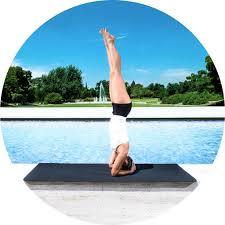 amazon com prosource natura tpe yoga mat black grey sports