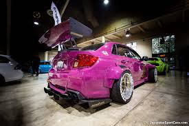subaru wrx widebody subaru wrx sti with vollkommen design widebody kit photo s