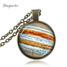 glass necklace pendants wholesale images Buy venus necklace orange space pendant glass jpg