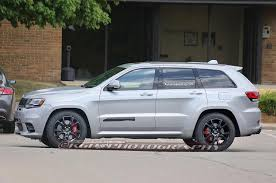 jeep camo jeep grand cherokee trackhawk caught sans camo