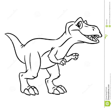 dinosaur clipart coloring page triceratop pencil and in color