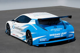 nissan leaf australia new model somehow a wide body kit a huge wing and a few inches channeled out