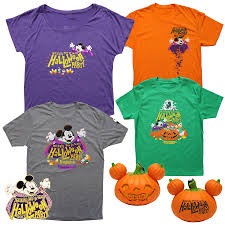 Pumpkin Shirts Halloween Mickey U0027s Not So Scary Halloween 2017 Magicbands And Shirts Blog
