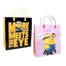 minion gift bags minions despicable me wholesale angel wholesale