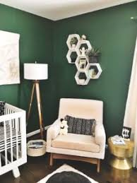 gender neutral nursery with pops of pink for a little