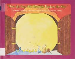 how the sun was brought back to the sky mirra ginsburg jose