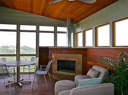 corner fireplace ideas contemporary sunroom to obviouslypfeiffer