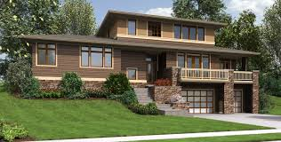 house plans for sloped lots mascord house plan 22197a the burbank