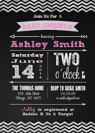 baby shower chalkboard baby shower invitation and personalized sign chalkboard modern