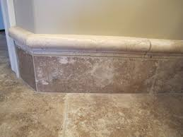 Wainscoting Over Bathroom Tile How To Transition From Hex Tile Floor To Wainscoting Wall In