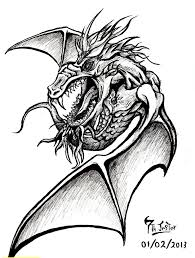 44 best wizard dragon tattoo drawings images on pinterest