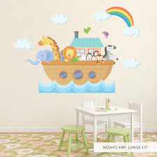 noah s ark printed wall decal noah s ark standard printed wall decal noah s arc large printed decal