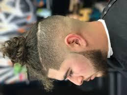 medium to low skin fade with sharp beard work thankmybarber