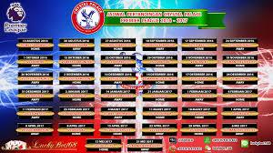 Jadwal Liga Inggris Jadwal Pertandingan Palace Liga Premier Inggris 2016