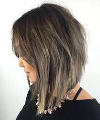 slightly angled long bob 20 inspiring long layered bob layered lob hairstyles