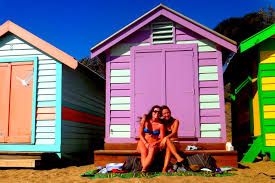 brighton beach play houses kiwis and aussies and monks oh my