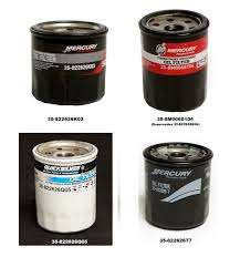 mercury marine fourstroke outboard oil filters
