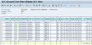 Depreciation Tables Finance Differences In Sap S 4hana