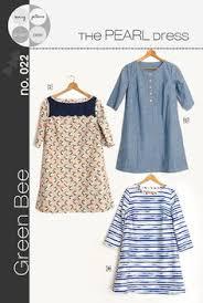 pattern a line shift dress women s tova tunic and dress sewing pattern crafts sewing