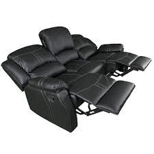 lorraine black recliner 3 piece living room set s l c