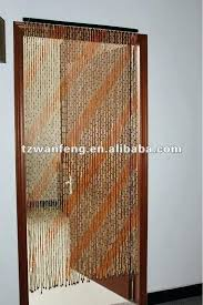 Bamboo Door Curtains Bamboo Beaded Curtains Bamboo Beaded Curtain Painted Black Of