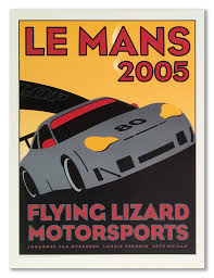 porsche racing poster flying lizard motorsports store u2013 flying lizard gear
