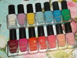 whenitrainsitpours nail polish collection part 2 barry m
