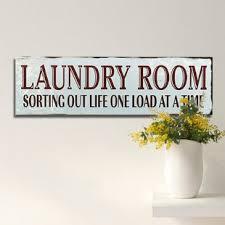 vintage laundry room decor wayfair