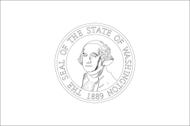 washington state bird nevada state flag coloring page best