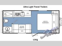 coachmen travel trailer floor plans new 2014 coachmen rv clipper ultra lite 17fq travel trailer at