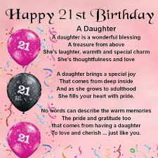 personalised coaster pink daughter poem 21st birthday free