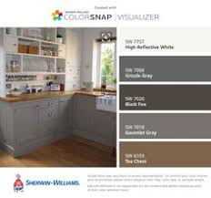 Icy Avalanche Sherwin Williams Diamond At Lowe U0027s Intrigue Cabinets Peppercorn Paint Hgtv