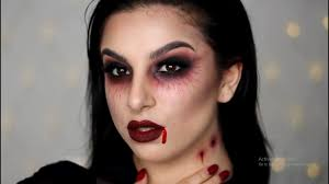 vampire look with halloween costumes halloween makeup tutorial