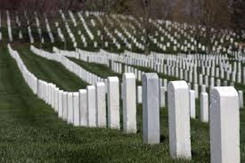 pictures of tombstones row upon row of white tombstones can be seen everywhere at arlington