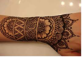 best beautiful henna tattoo on hand