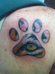 tiger paw by tattoosbyraven on deviantart