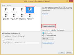 protect a web api backend with azure active directory and api