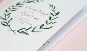 Custom Wedding Programs Costa Custom Gallery Anticipate Invitations