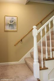 Banister Paint Ideas Green With Decor Paint Banister Without Taking It Off The Wall