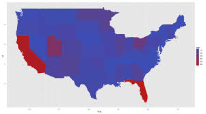 United States Abbreviations Map by Dictionary Create A Heatmap Of Usa With State Abbreviations And