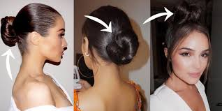 hair bun 4 easy hair bun ideas for 2017 best bun hairstyle tips