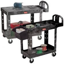 rubbermaid service cart with cabinet trucks carts carts plastic shelf rubbermaid 174 plastic